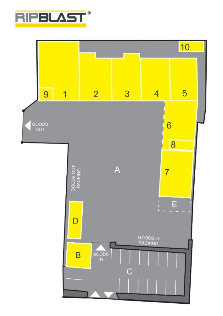 RipBlast site plan